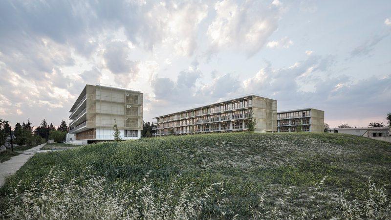 Construction d'un ensemble de bureaux Passifs « Hamadryade » à Avignon