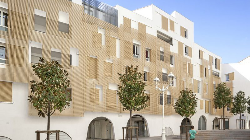 Reconstruction de l'îlot Baudin (Logements étudiants + logements sociaux) à Toulon