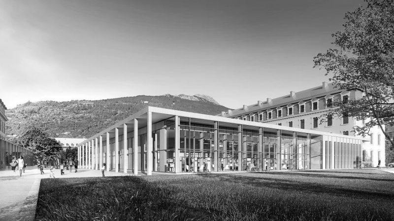 Construction de la médiathèque et archives municipales de Briançon
