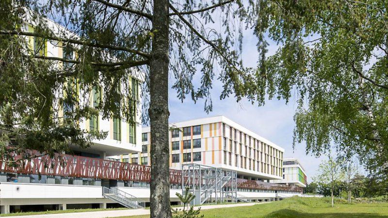 Nouvel Hôpital Régional (1 300 lits) à Orléans