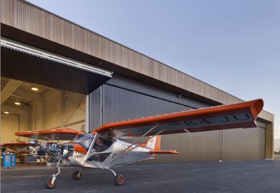 Construction du technopôle « Pégase » Aéroport d'Avignon-Caumont