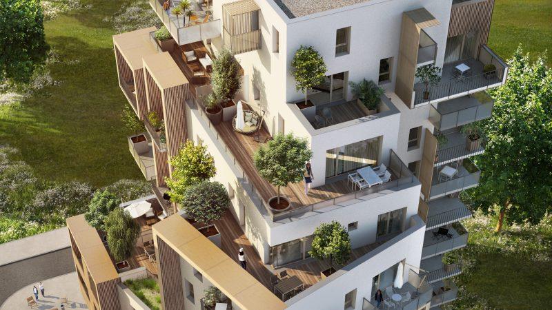 Construction de 45 logements ILOT CB1 – ZAC PRESQU'ILE – GRENOBLE