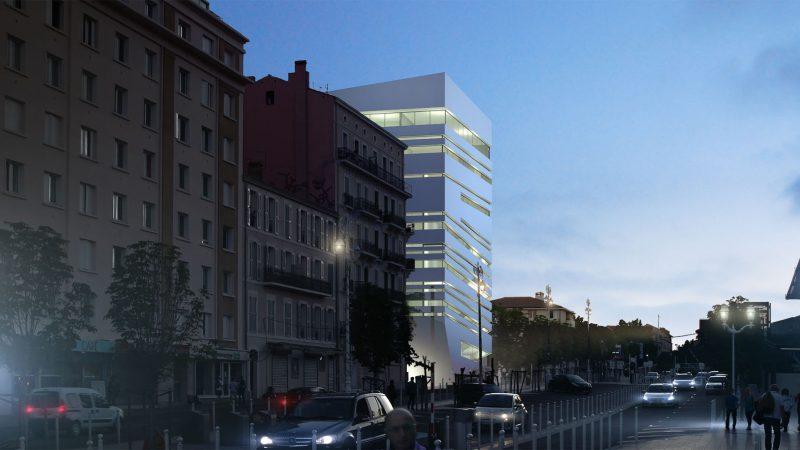 """ESAD et KEDGE Business School """"Quartier de la connaissance et de la créativité"""" Site Chalucet à Toulon (83)"""