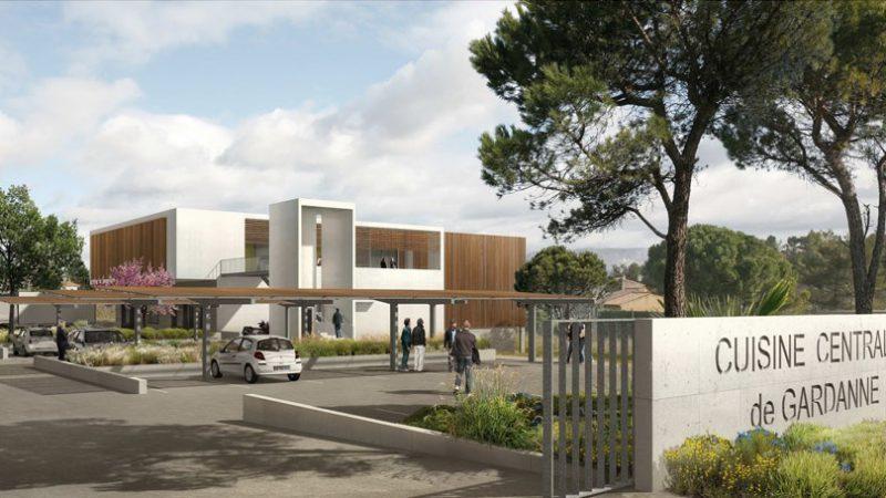 Nouvelle cuisine centrale à Gardanne