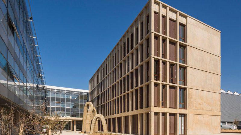 Laboratoire « MECAMAT » pour l'INSA à Villeurbanne (69) Campus de Lyon-Tech La Doua