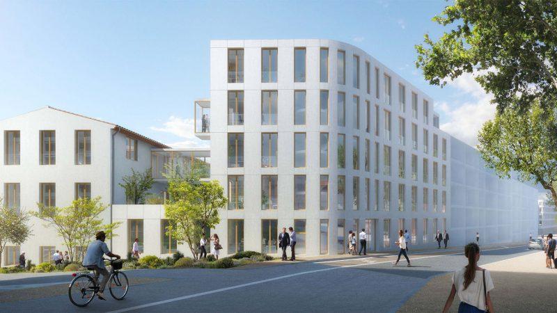 « Quartier de la Créativité et de la Connaissance », Site Chalucet à Toulon