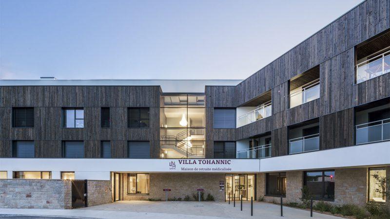Construction d'un EHPAD de 100 lits « Villa Tohannic » à Vannes (56)