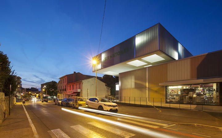 Cinéma (3 salles et une brasserie) + extension à Six-Fours-les-Plages