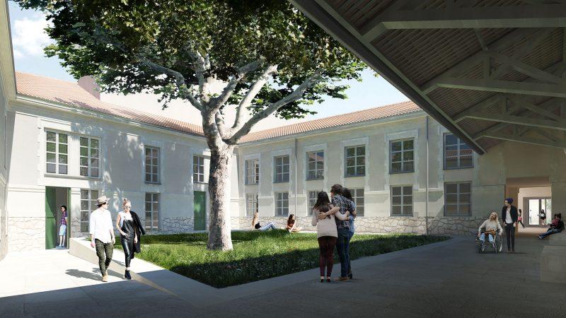 Réhabilitation du site « Alauzen » pour 81 logements étudiants à Avignon