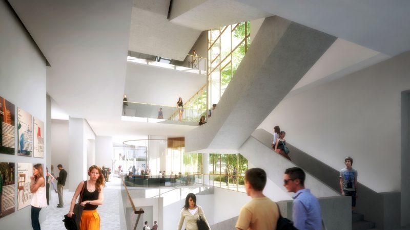 Médiathèque intercommunale du « Quartier de la Créativité et de la Connaissance » à Toulon