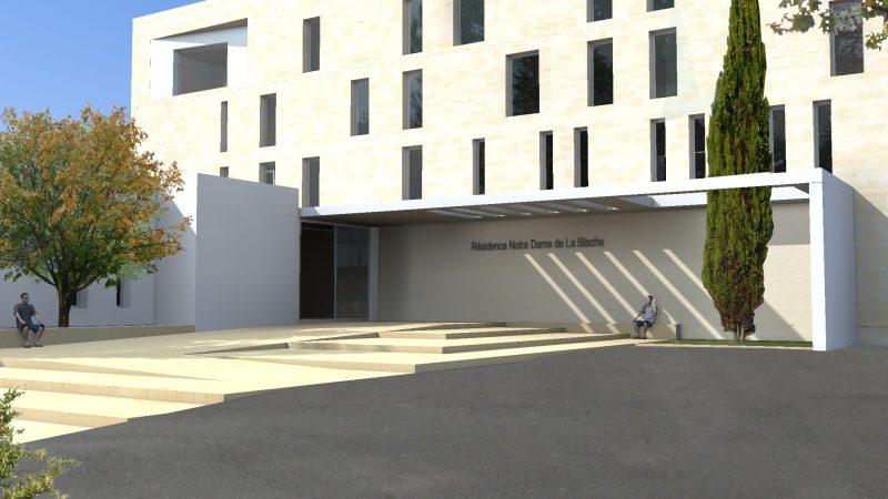 Restructuration extension Résidence pour personnes âgées à Pont St Esprit