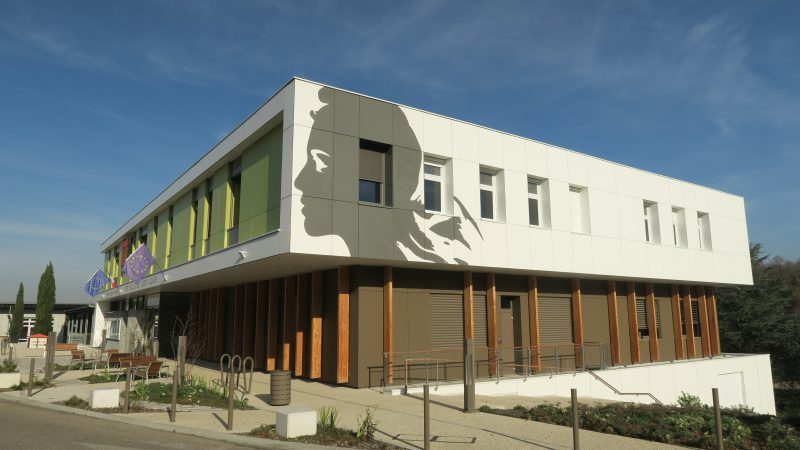 Construction du nouvel hôtel de ville de Saint Quentin Fallavier