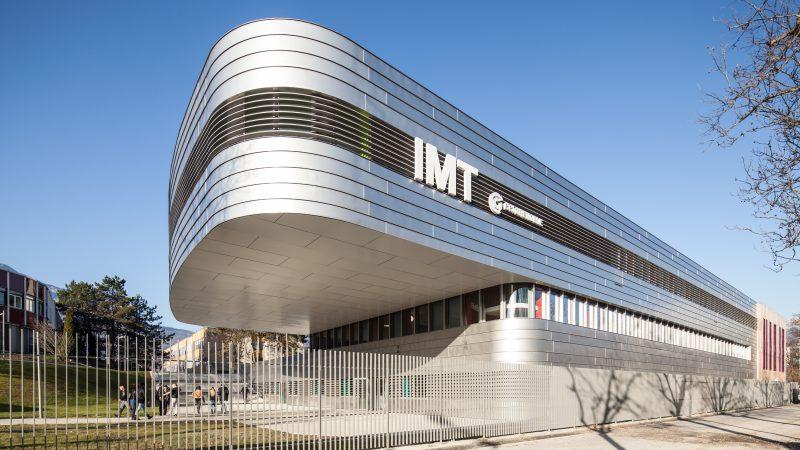 Construction d'un bâtiment pédagogique sur le site de l'IMT à Grenoble