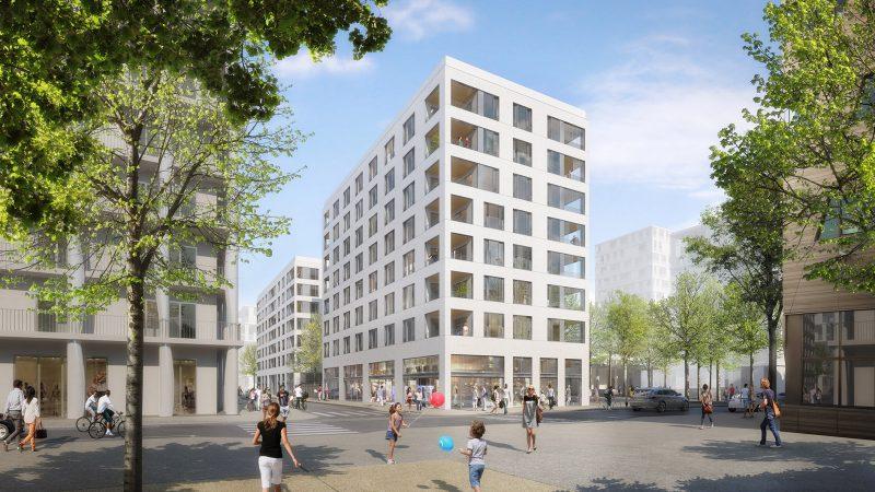 Construction de 58 logements mixtes « ZAC Confluence » à Lyon