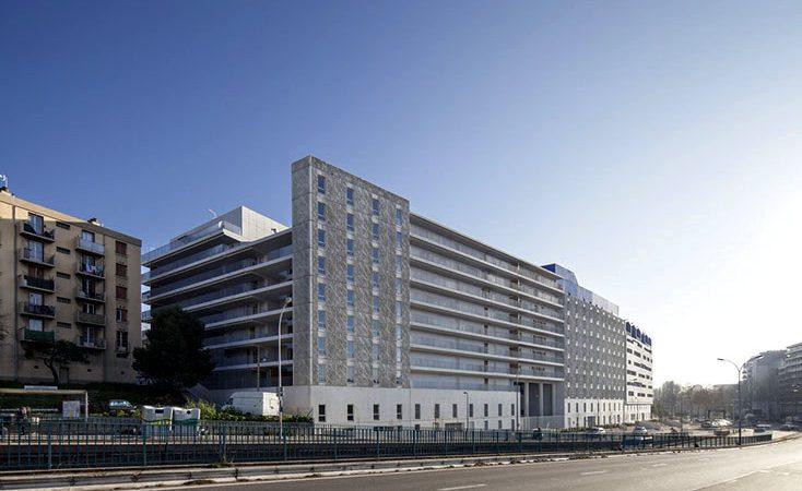 307 logements, foyer de travailleurs et handicapés, crèche et parkings à Marseille
