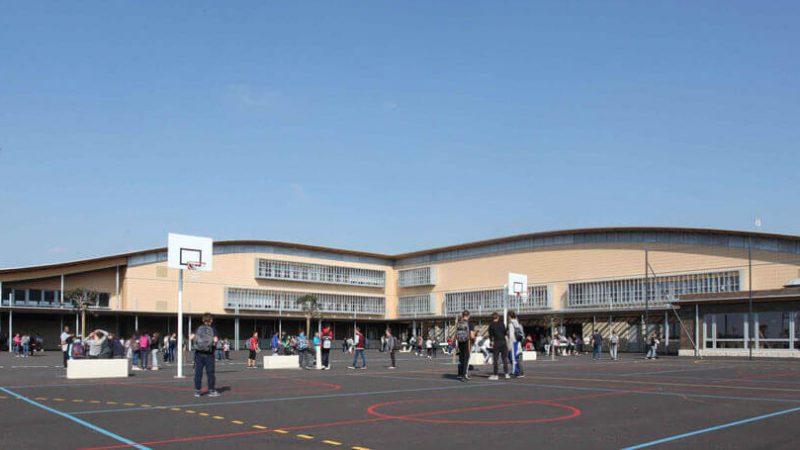 Construction du nouveau collège de Saint Pierre de Chandieu