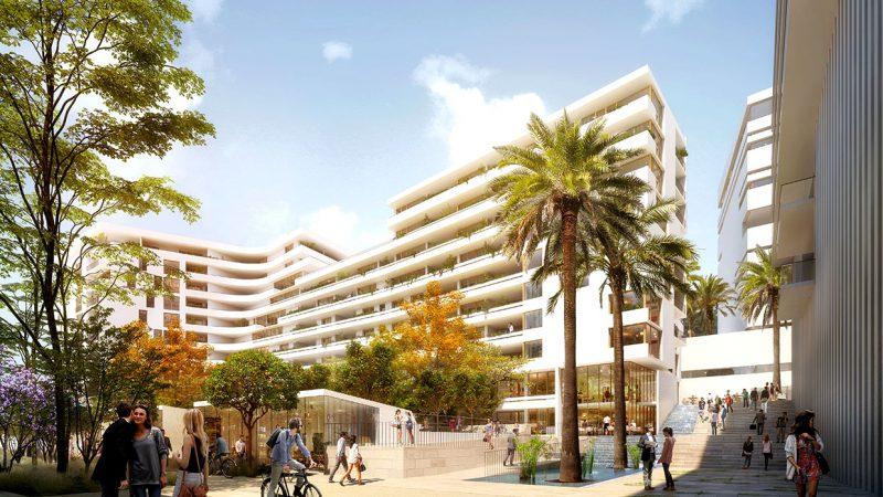 """162 logements mixtes « Quartier de la Créativité et de la Connaissance"""" à Toulon"""