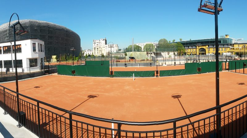 RESTRUCTURATION DU CENTRE SPORTIF JEAN BOUIN A PARIS