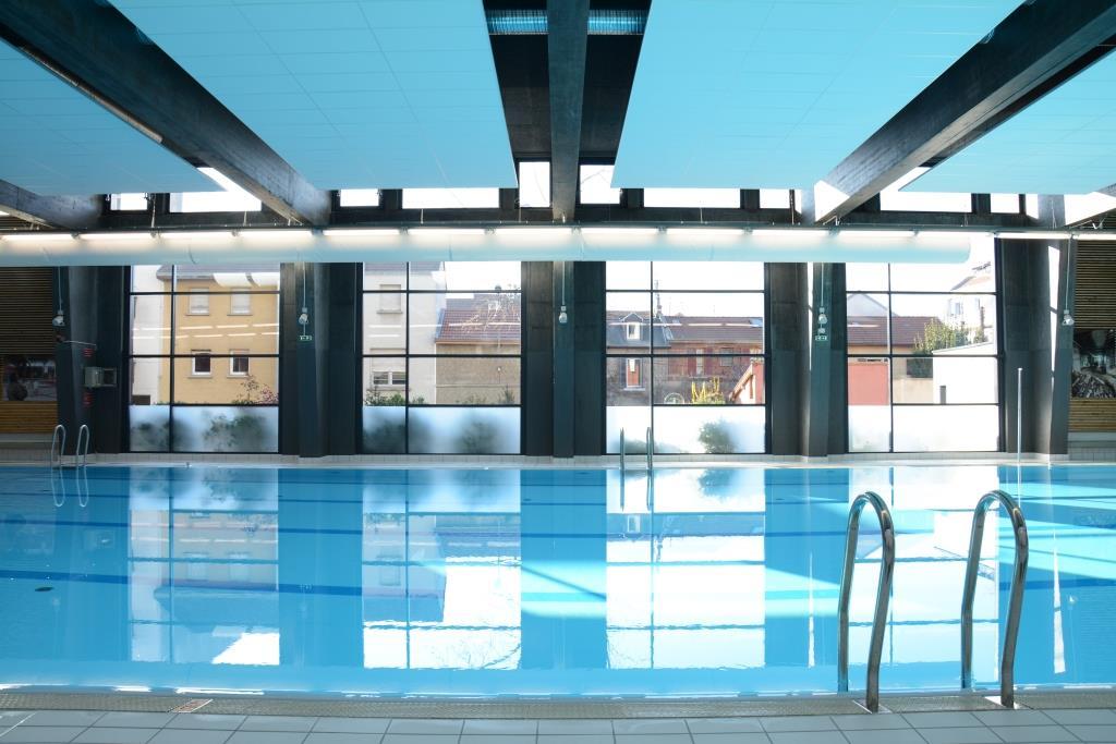 R habilitation de la piscine bulle d o a grenoble alethia for Piscine bulle d o