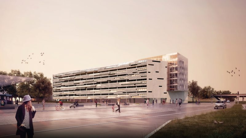 CONSTRUCTION D'UN PARKING RELAIS ST JACQUES GAITÉ A RENNES (35)