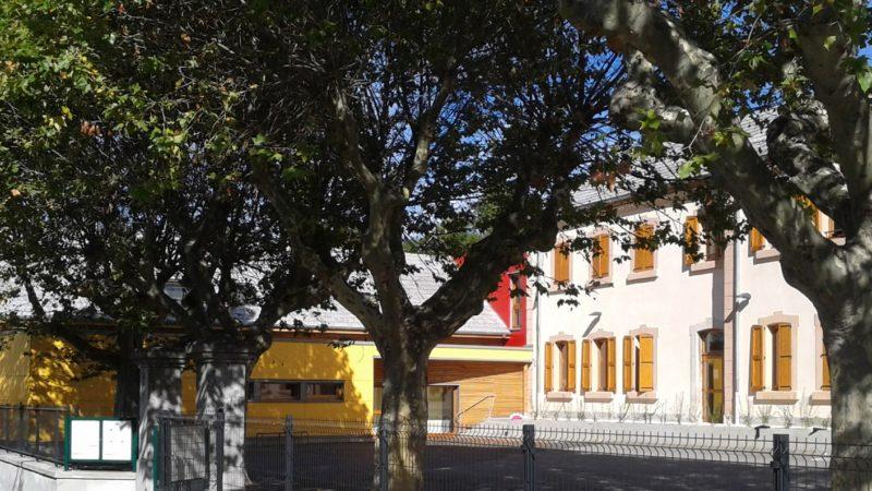Rénovation de l'école + aménagement médiathèque à Guillestre