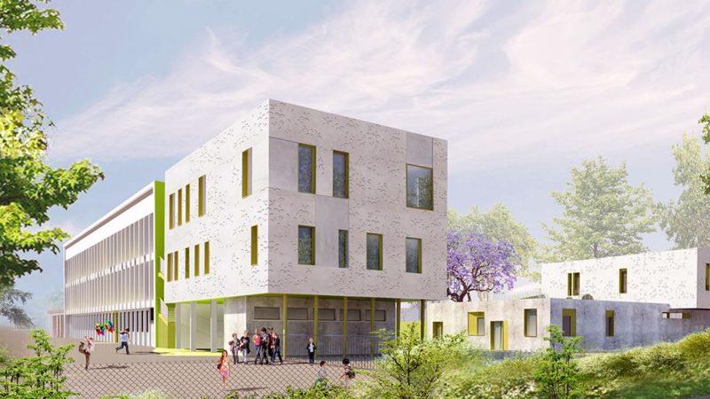 CREM Rénovation Groupe Scolaire Joliot Curie à GRIGNY (69)