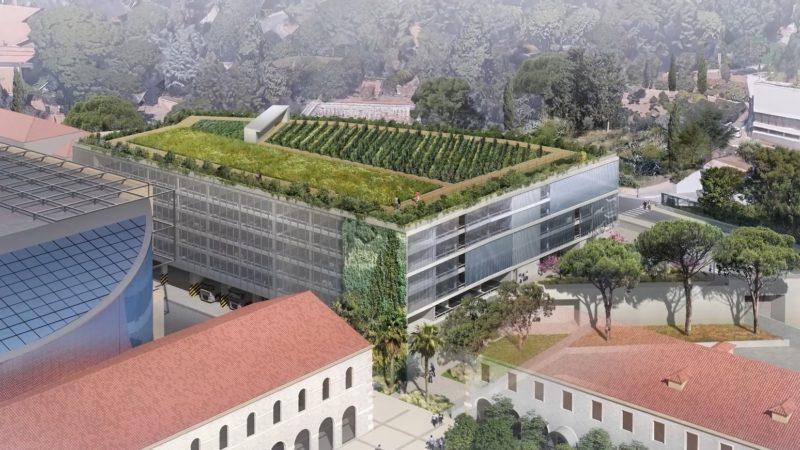 CONSTRUCTION PARKING DU ZÉNITH A TOULON